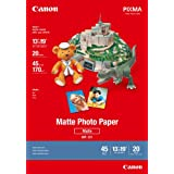 Canon MP-101 13-Inch x 19-Inch Matte Photo Paper (20 Sheets/Package)