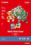 Canon Photo Paper Matte, 13 x 19 Inches, 20 Sheets (7981A011)