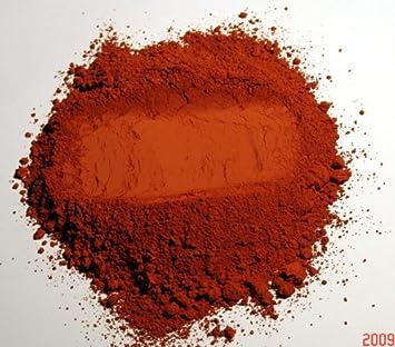 Maison Ecolocom Pigment Naturel Pour Peinture Ocre Rouge à Partir