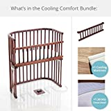 babybay Bassinet Cooling Comfort Bundles in Deep Walnut