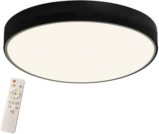 Tolle Deckenleuchte E27 Deckenlampe Modern Ø30cm Schwarz Beleuchtung Küche