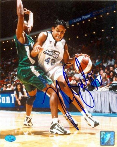 Nykesha Sales autographed 8x10 Photo (Orlando Miracle WNBA) Image - Sale Warehouse For Orlando