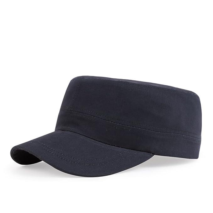 Gorras planas/Sombreros al aire libre de los hombres/Casquillo del ocio/Versión coreana de este deporte Cap/Sombreros de pareja/sombrero de la juventud-E ...