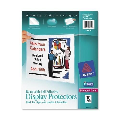74404 Avery Removable Self Adhesive Display Protector - Letter 8.50