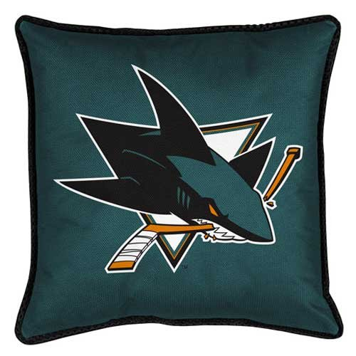 NHL San Jose Sharks Sideline Pillow