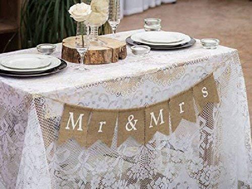 Wedding Venue Decoration Custom Wedding Bunting Banners Card Photo Prop