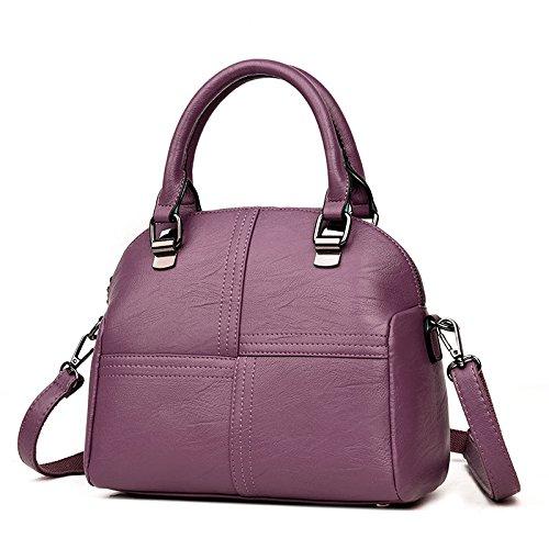 à Casual Femmes Femme Rétro Messenger Purple Main à KYOKIM Sacs Sac Bandoulière Mode Bag TYqAt