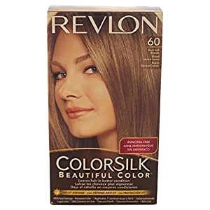 Revlon Colorsilk Beautiful Color, Dark Ash Blonde 60