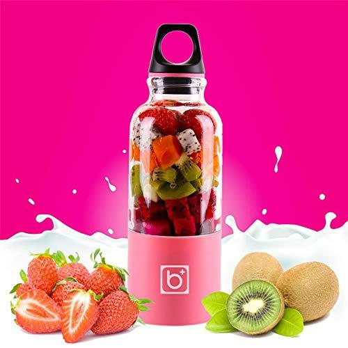 Gano Zen 500ml Portable Juicer Cup USB - Rechargeable Electric Automatic Bingo Vegetables Fruit Juice Tool - Maker Cup Blender - Mixer Bottle by Gano Zen (Image #5)