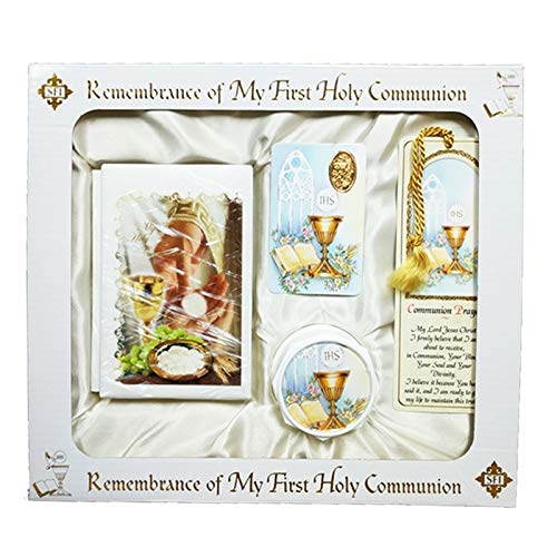 SF001 Catholic & Religious Gifts, First Communion Gift Set English Neutral by SF001