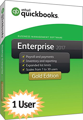 QuickBooks Enterprise 2017 Gold Edition, 1-User