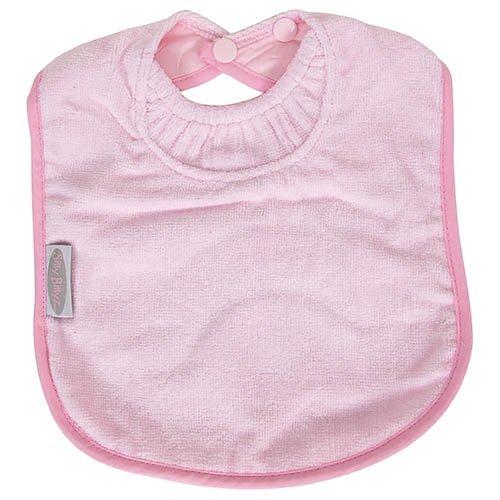 Billyz Silly Towel (Silly Billyz Towel Bib, Pale Pink 3 mos - 3 yrs)