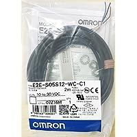 OMRON E2E-S05S12-WC-C1 2M Proximity Sensor Shielded Models (M5 Sensing Distance 1.2mm)(PVC(Oil Resistant))(NPN Output) NN