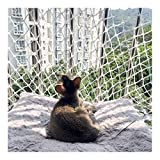 Pets Protection Safety Fence Railings Stairs Nylon Rope Climbing Woven Rope Truck Cargo Trailer Netting, Anti-Fall Net Outdoor Climbing Net Cat Net Wall Decoration Net 6mm