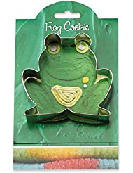 Frog Cookie and Fondant Cutter - Ann Clark - 3.9 Inches - US Tin Plated Steel