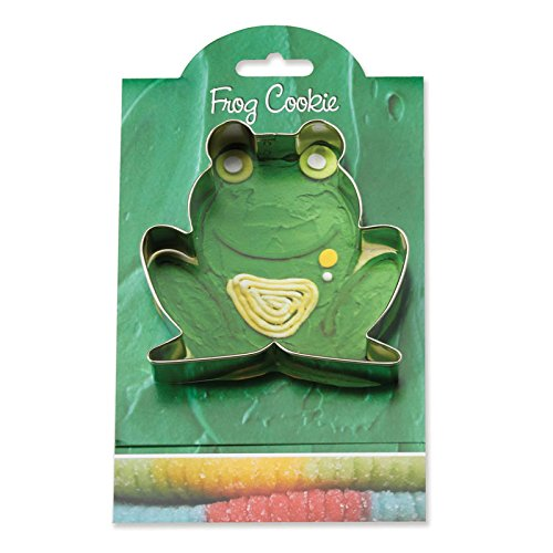 Frog Cookie and Fondant Cutter - Ann Clark - 3.9 Inches - US Tin Plated Steel (Frog Cookie Cutter)