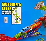 HOT WHEELS Wall Tracks ROTO ARM REVOLUTION TRACK Race SET w MOTORIZED LIFT & VEHICLE Included (2013)