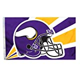 Fremont Die Minnesota Vikings 3x5 Helmet Flag