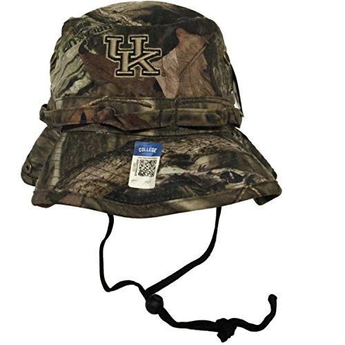 Top of the World Kentucky Wildcats Tow Mossy Oak Camo Woodsmen Bucket Hat Cap