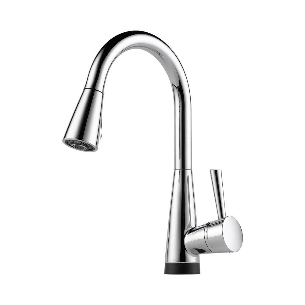 Brizo 64070LF-PC Venuto Kitchen Faucet Single Handle with Pull-Down ...