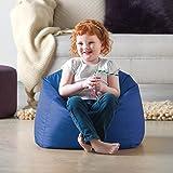 My 1st Bean Bag - Indoor & Outdoor Childrens Bean Bags - Small Kids Bean Bag (Blue)