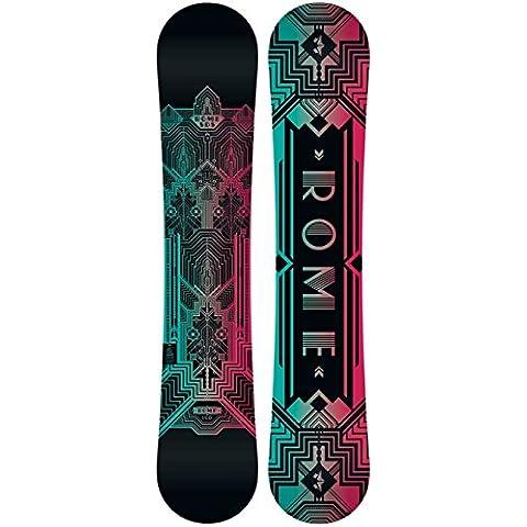 Rome Romp Snowboard Womens - Matrix All Terrain Snowboard