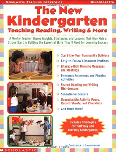 Amazon The New Kindergarten Teaching Reading Writing More