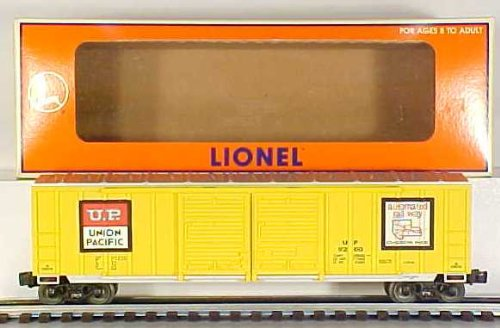 Lionel 6-17227 UP Double Door DD Boxcar Union Pacific Standard O 1/48 9200 yello