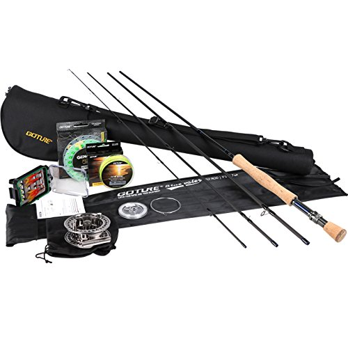 (Goture Fly Fishing Combo,Fly Rod and Reel Complete Starter Kit for Beginners)