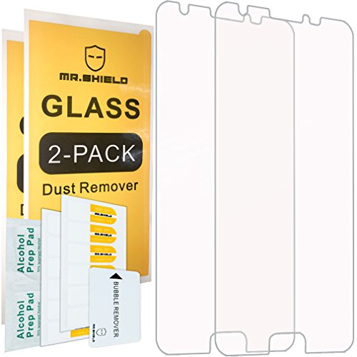 [2-PACK]-Mr Shield For Samsung Galaxy Express Prime 2 [Tempered Glass] Screen Protector with Lifetime Replacement Warranty