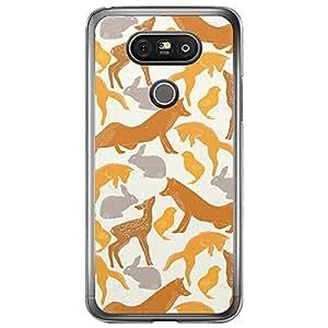 Loud Universe LG G5 Spring Printed Transparent Edge Case - Multi Color