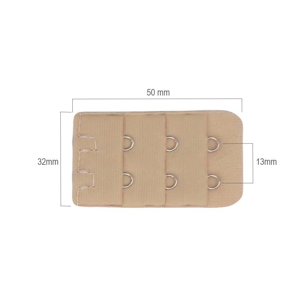 632df03b98fac3 Diawell 3er set BH Verlängerung Erweiterung 3 Farben Vergrößern Verschluss  2/3/4 Haken: Amazon.de: Küche & Haushalt