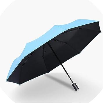 Rabbit Automatic Tri-Fold Umbrella Parasol Sun Umbrella Sunshade