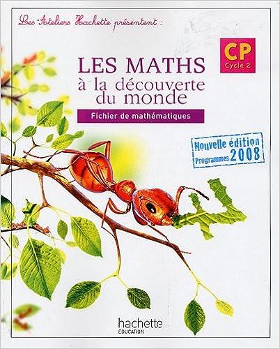 Livre gratuits Les maths à la découverte du monde, CP : Fichier de mathématiques epub, pdf