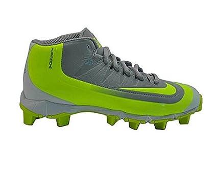 Nike – Botines de béisbol Huarache 2KFilth Keystone M Bg, para niños, Gris (