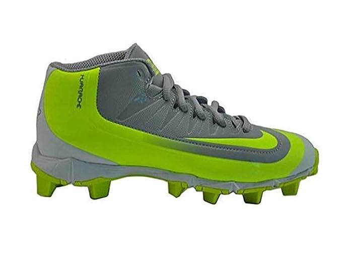 Nike - Botines de béisbol Huarache 2KFilth Keystone M Bg, para niños, Gris (Grey/Volt): Amazon.es: Deportes y aire libre