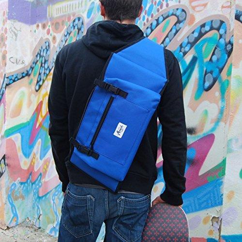 Rucksäcke für skateboard 7,5 - 8,5, in blau. Daypacks Fahrradrucksäcke Kinderrucksäcke Zu allen Rucksäcken & Taschen. Rucksack mit Skateboardbefestigung