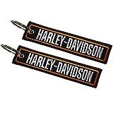 Harley-Davidson doppelseitiger Schlüsselanhänger