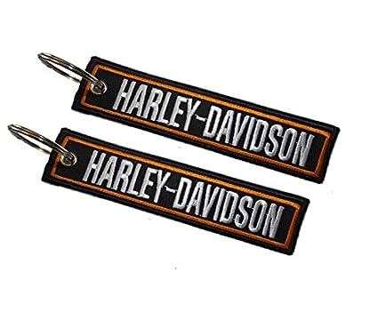 Moto Discovery Llavero Doble Cara para Modelos Harley-Davidson (1 Pieza)