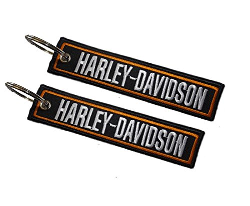 Harley-Davidson double sided key ring Moto Discovery