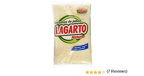 Escamas lagarto de jabon para lavar, bolsa 250 gr: Amazon.es ...