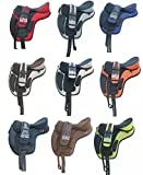 Product review for Synthetic Treeless Freemax English Multicolors & Multisize Available Horse Saddle + Get 1 Matching Girth with Leather Stirrup