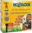 Hozelock 2804 Plus Auto 25 Plant Pot Hedge Watering Kit AC Automatic Water Timer