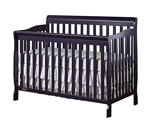 Drеаm Оn Mе Deluxe Premium Collection 5 in 1 Convertible Crib Espresso Decor Comfy Living Furniture ()