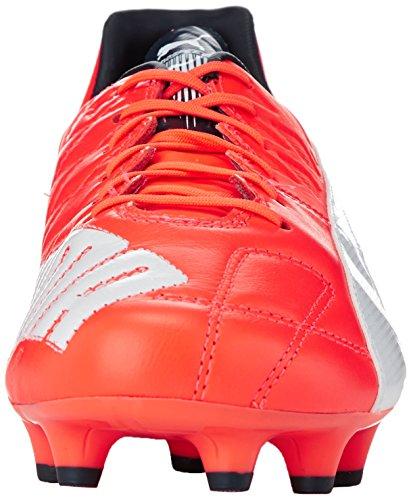 Puma Evospeed 1.4 Leather Fg Boots - Adult - Lava Blast / White / Total Eclipse - Lava Blast-white-total Eclipse 01