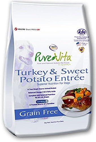 PureVita Grain Free Turkey Sweet Potato Dry Dog Food