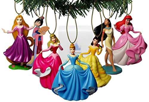 Disney Princesses Holiday Ornament Set Of 7 -