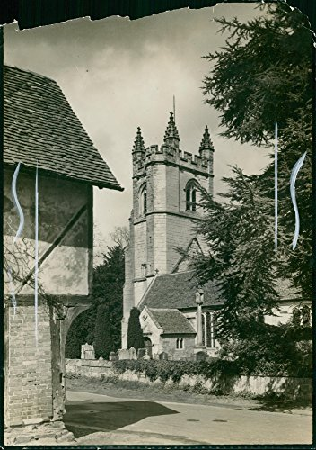 (Vintage photo of Kent: Chiddingstone: Tudor Cottage)