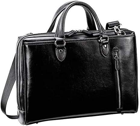 平野鞄 ビジネスバッグ メンズ ブリーフケース ショルダーバッグ B4 通勤 通勤鞄 大開き タブレット対応 2way 軽い 黒 紺 ブラック ネイビー 横幅39cm +オリジナル高級ムートングローブ