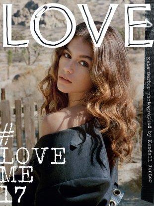 Love Magazine #17 (Spring/Summer 2017) Kaia Gerber Cover (2)